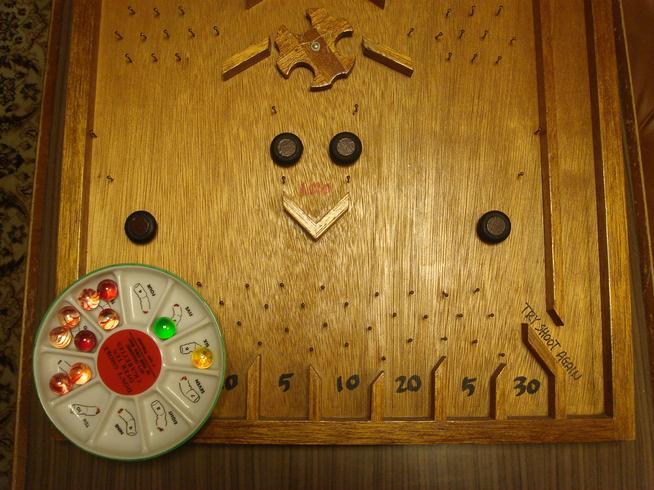木製コリントゲーム自作