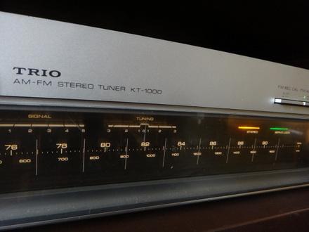 トリオFMチューナーKT1000