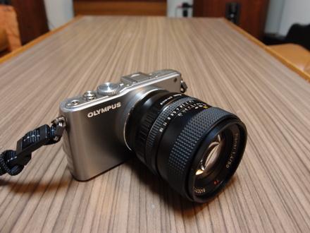 PL3+50mm F1.4